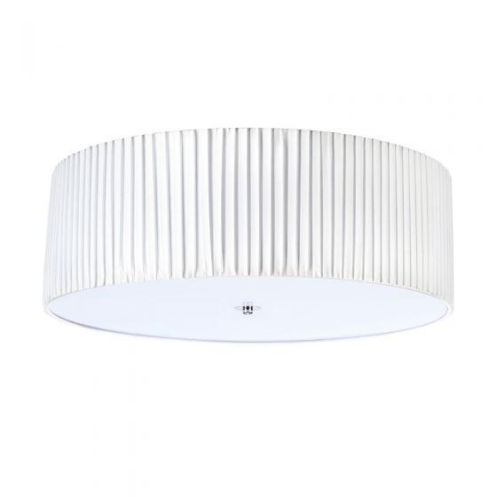 Jackie 60 Flush Ceiling Light - White