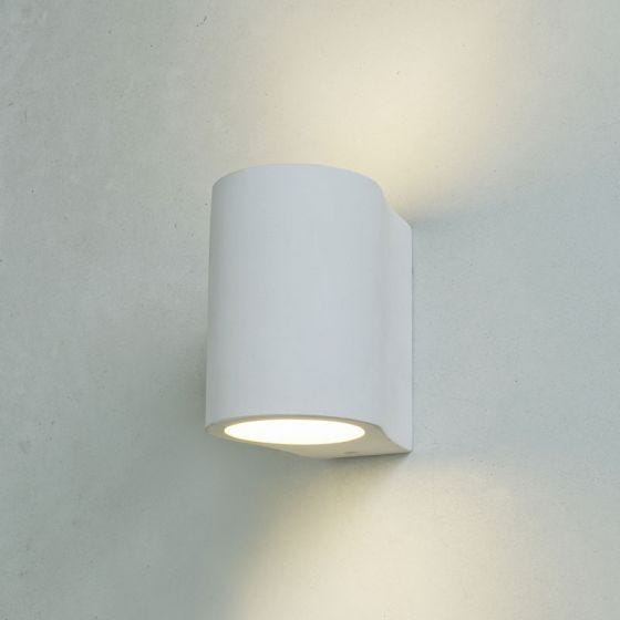 Edit Harrow Up & Down Plaster Wall Light