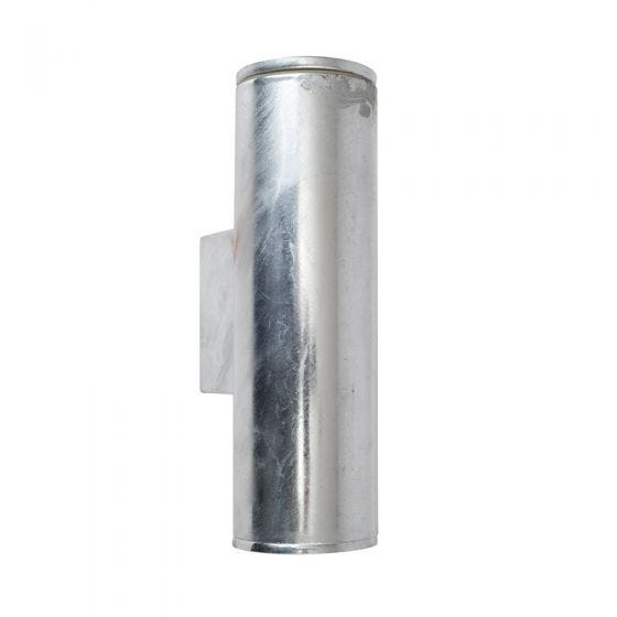 Edit Coastal Pimlico LED Outdoor Up & Down Wall Light - Galvanised Steel