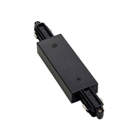 SLV 1 Circuit Straight Connector - Black