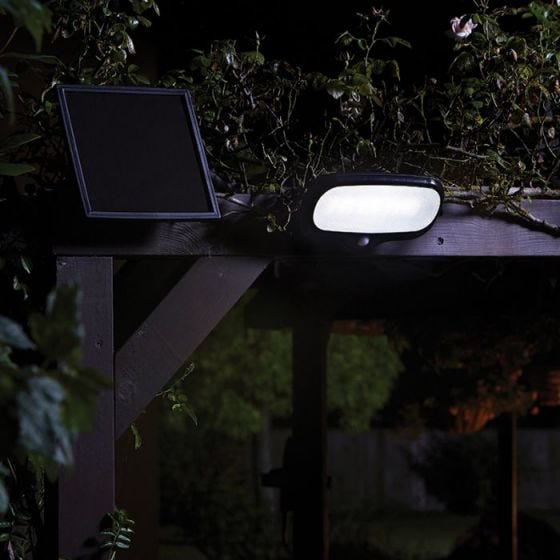 Large Solar LED Floodlight with PIR Sensor