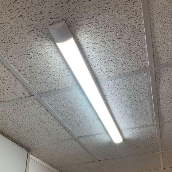 Force 50W Daylight LED Batten - 5ft Single