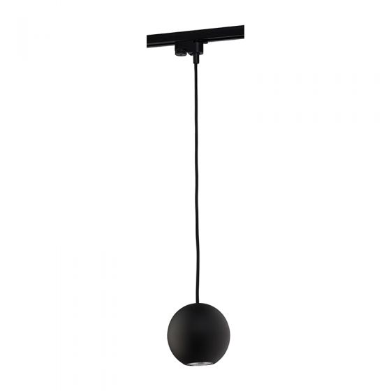 Edit Bubble 1 Circuit Track Light - Black