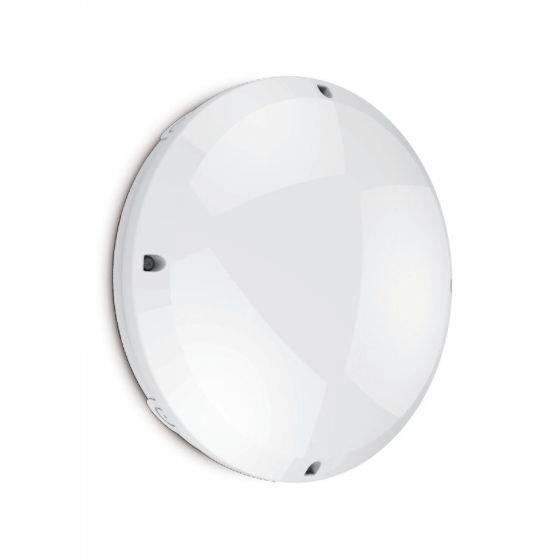 Seal 12W Cool White LED Flush Light