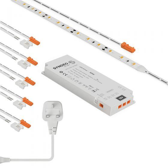 Tagra 30W Daylight Easy to Use LED 12V Tape Kit - 5 Metre
