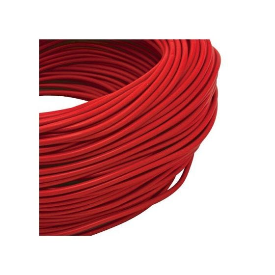 CED 100 Metre x 3mm PVC Sleeving - Red