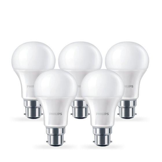 Philips 13W Corepro Warm White LED GLS Bulb - Bayonet Cap - Pack of 5